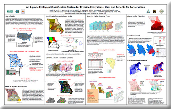 Poster: An Aquatic Ecological Classification System for Riverine Ecosystems