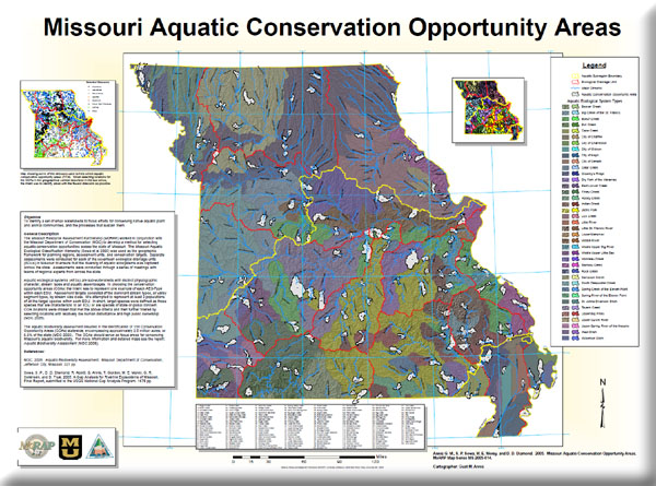 Poster: Missouri Aquatic Conservation Opportunity Areas