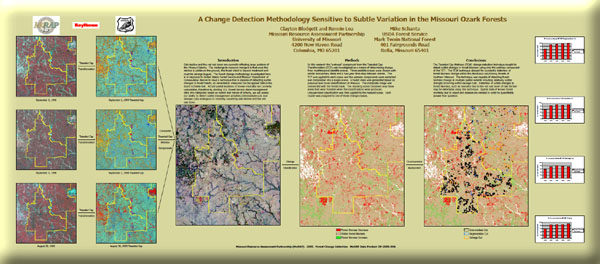 Poster: A Change Detection Methodology Sensitive to Subtle Variation in the Missouri Ozark Forests