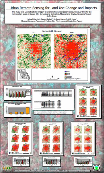 Poster: Urban Remote Sensing for Land Use Change and Impacts