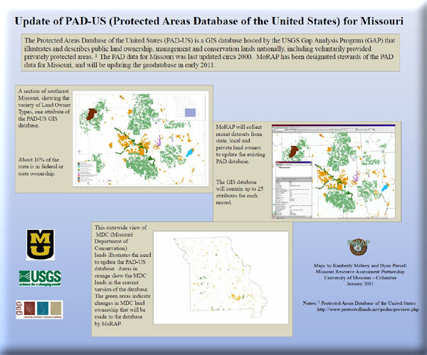 Poster: Update of PAD-US for Missouri