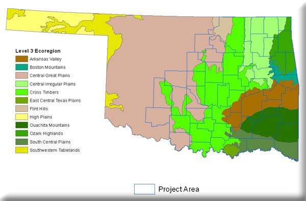 Oklahoma Current Vegetation Mapping  MoRAP
